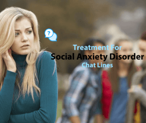 Treatment for Social Anxiety Disorder: Chat Lines image
